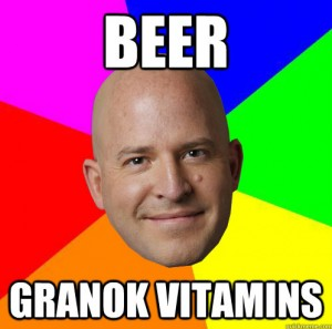 beer granok vitamins