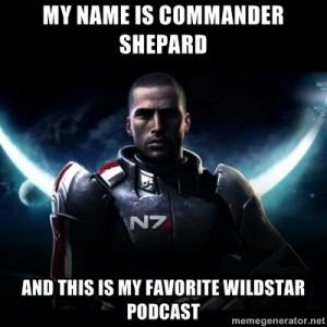 shepard meme wildstar